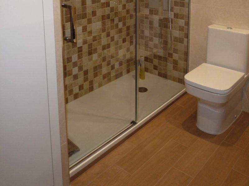 Reforma plato de ducha rectangular